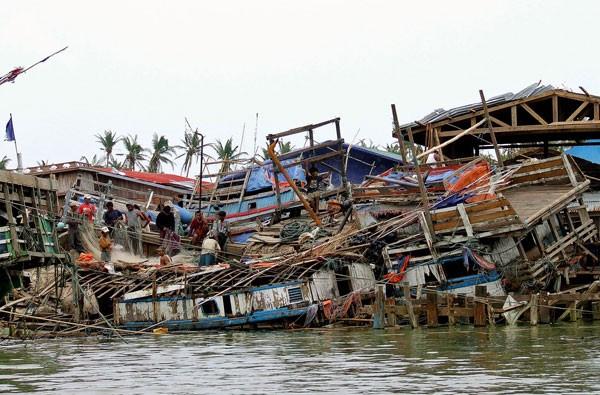 Cyclone Nargis' Burma Destruction