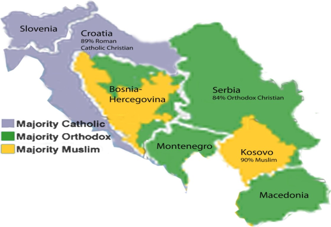 Bosnian Genocide World Without Genocide - Prominent us ethnic group map