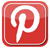 pinterest square icon no background 50p