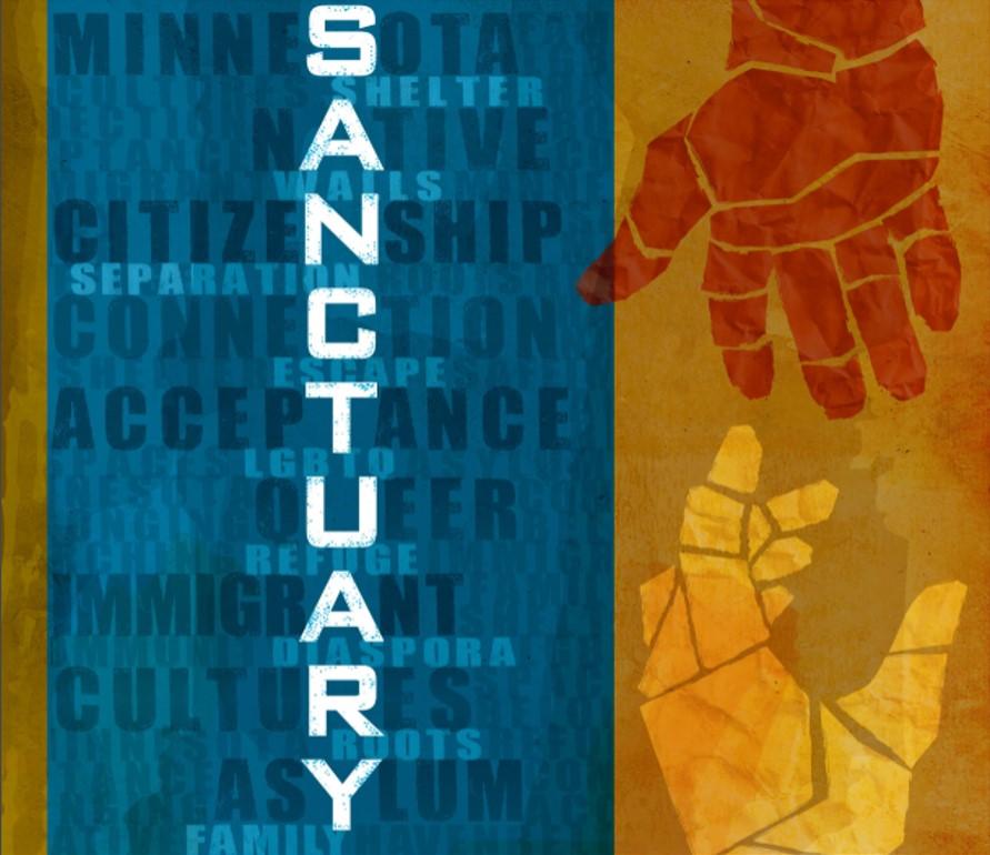 Sanctuary Image, Portrait Version
