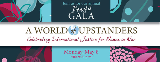 2017 World Without Genocide Gala Info Art