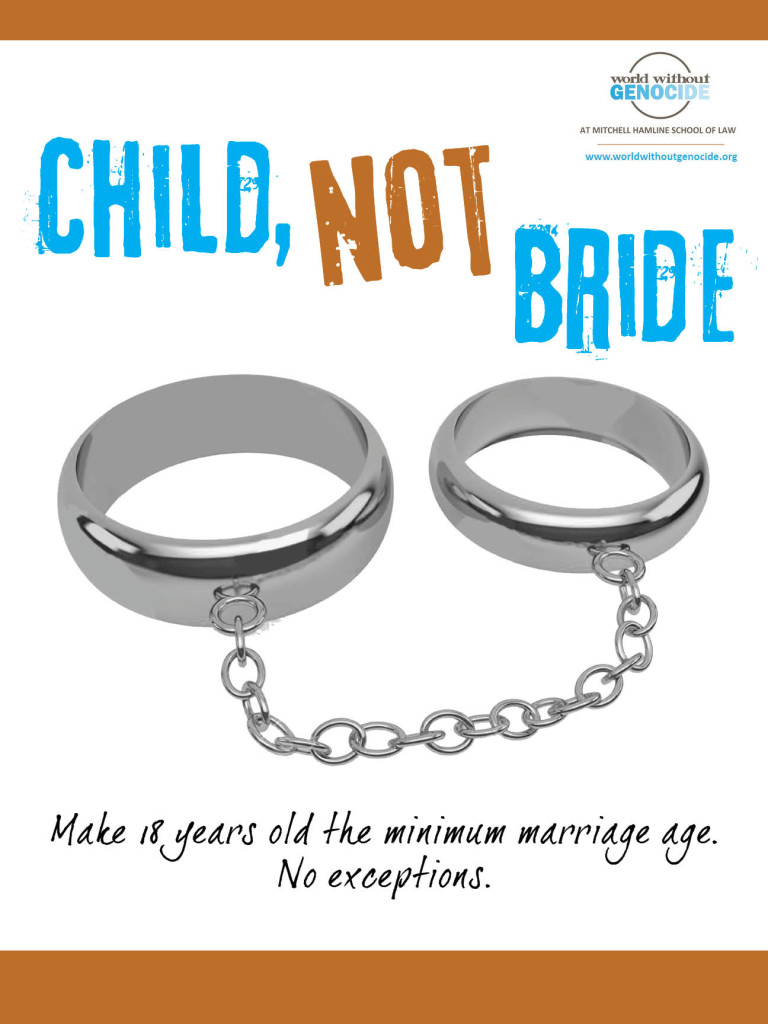 Poster, No Child Marriage