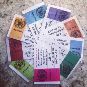 Tickets to daily session