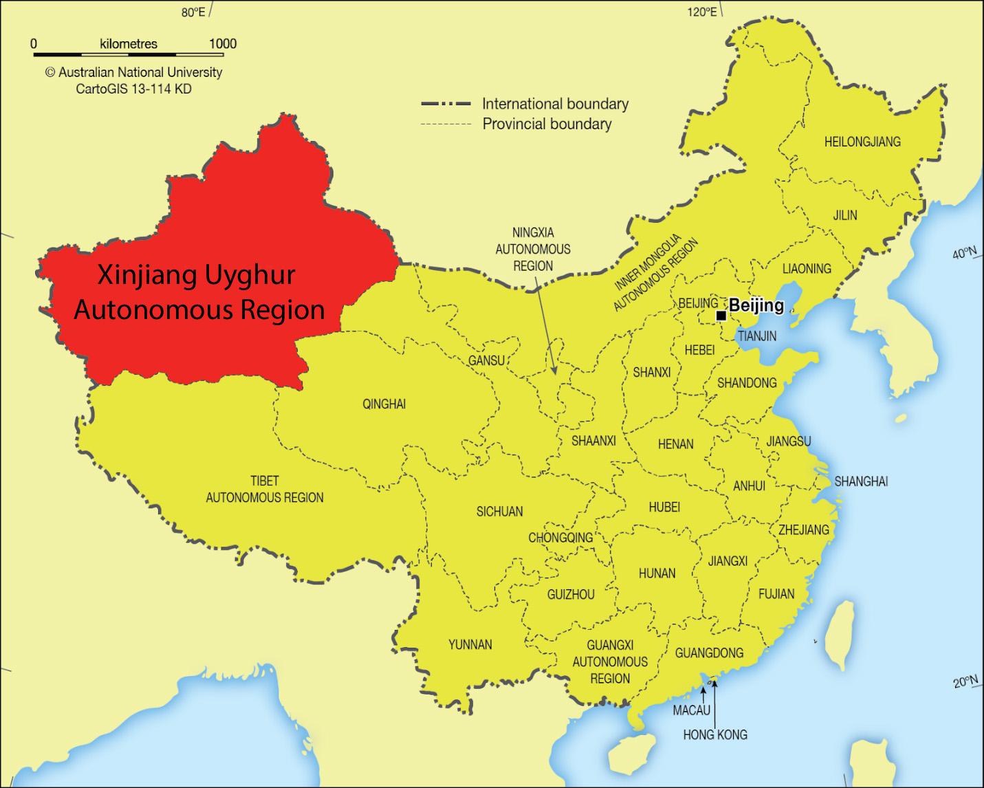 25+ Xinjiang city map terbaru